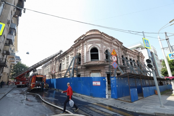 Здание построили в конце XIX века
