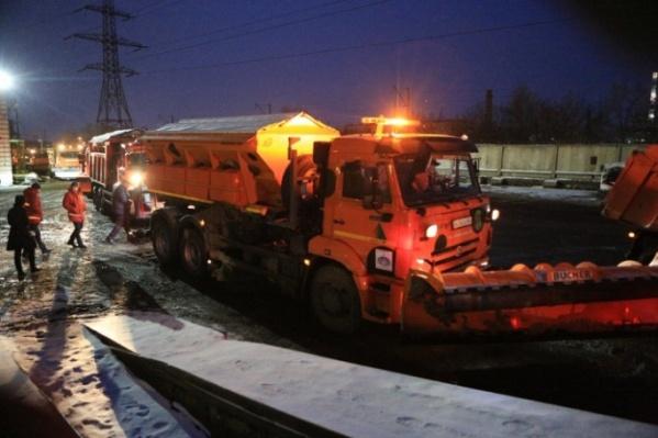 Споры о противогололёдных материалах идут в Красноярске уже несколько лет
