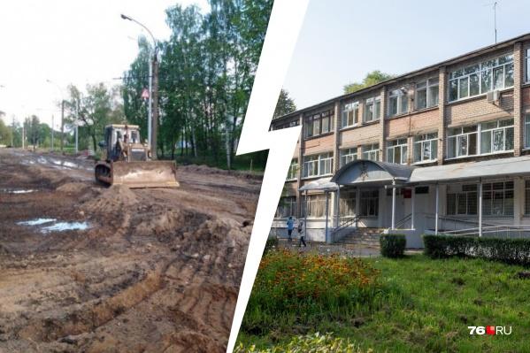 Почти вся больница осталась без телефонной связи и интернета из-за рабочих на Тутаевском шоссе