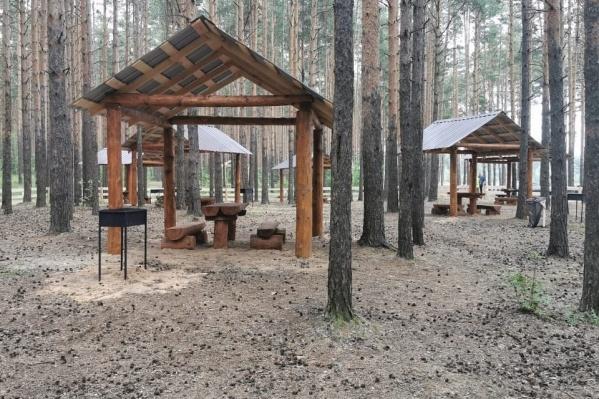 Появились места для пикников