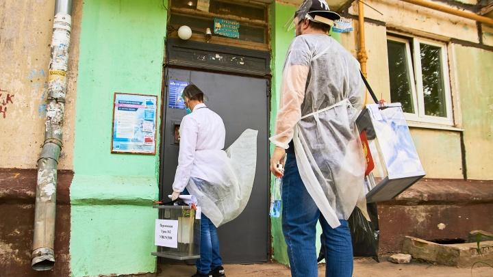 В Самаре женщина напала на члена избирательной комиссии с газовым баллончиком