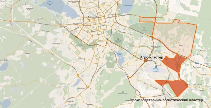 Значительную часть района займут логистический и индустриальный парки, а также агрокластер