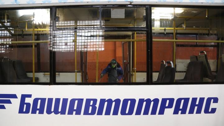 «Изыди, коронавирус»: как в Уфе дезинфицировали автобусы «Башавтотранса»