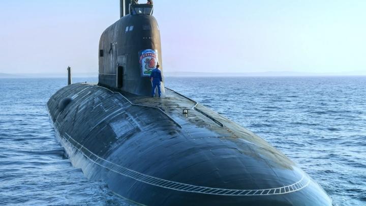 Атомная подлодка «Казань», построенная в Северодвинске, проходит испытания в Белом море