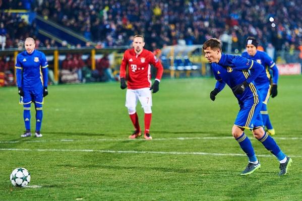 В «Ростов» Полоз впервые пришел в 2011 году