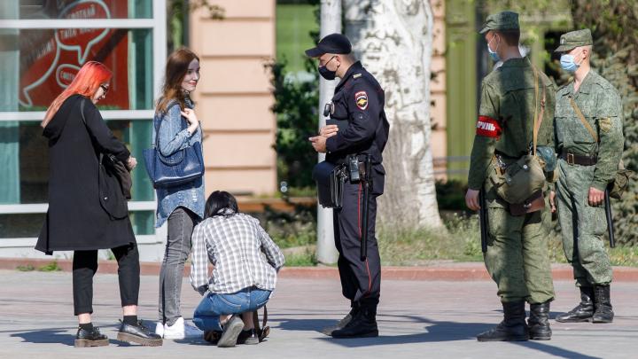 В Волгоградской области отловили 125 нарушителей строгого масочного режима