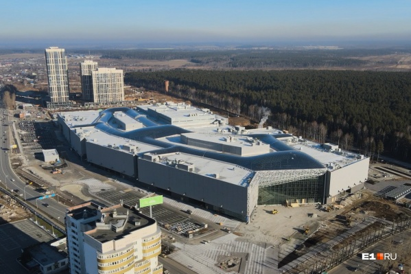Торговый центр станет вторым в городе по размеру
