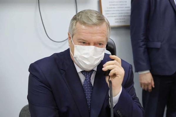 Голубев анонсировал скорое ужесточение контроля по ношению масок