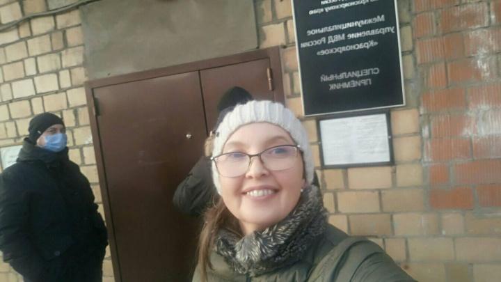 Общественницу Наталию Подоляк отправили на 10суток в ИВС за оскорбление полицейских в «Фейсбуке»