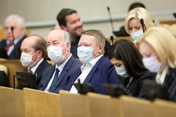 На последнем пленарном заседании назначили ответственный за проект закона комитет