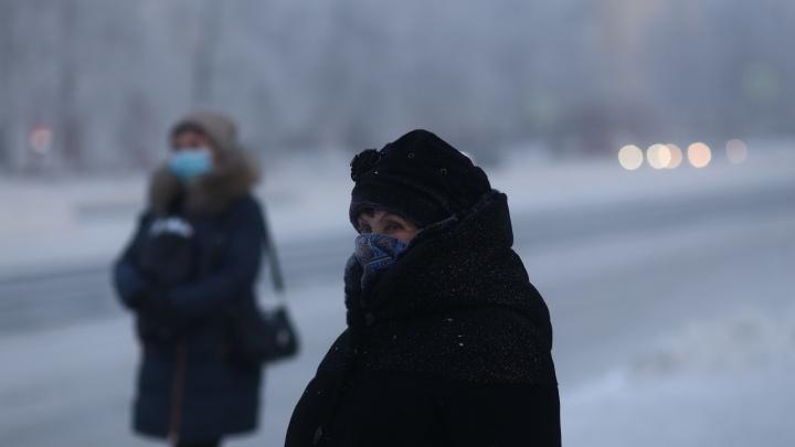 В Кузбассе 29 человек получили обморожения за сутки. Медики рассказали, как не переохлаждаться
