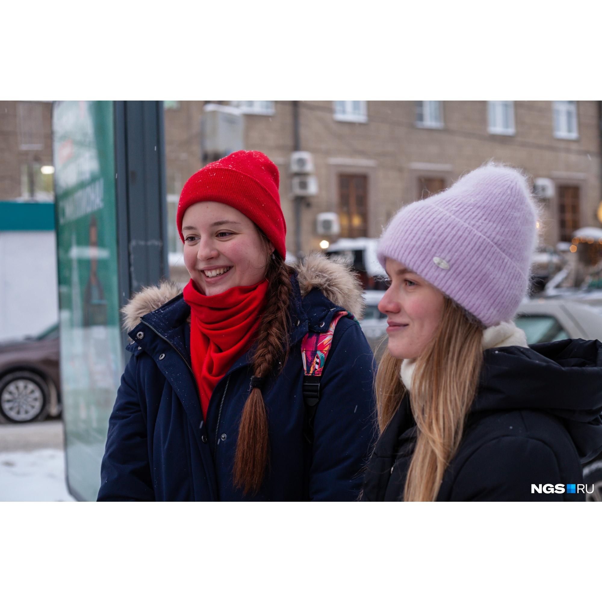 Подруги Алина и Сара тоже учатся новому