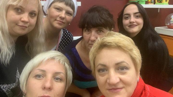 Коллектив детского сада в Красноярске ночует на работе, в страхе потерять помещение из-за долгов по аренде