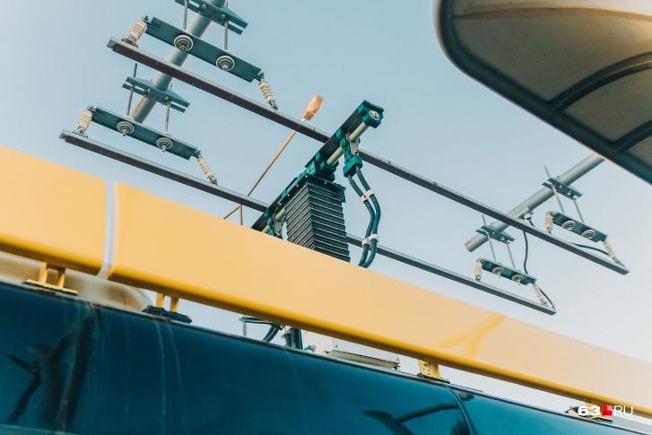 Пантографы — «наследие» троллейбусов