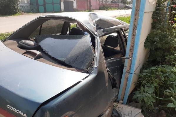 Машина, судя по всему, восстановлению не подлежит