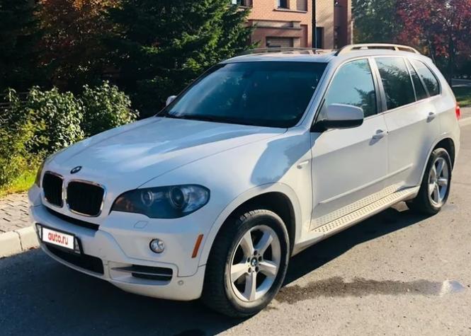 BMW X5, 2008 год