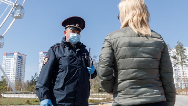 В Волгоградской области ударными темпами ловят нарушителей режима самоизоляции