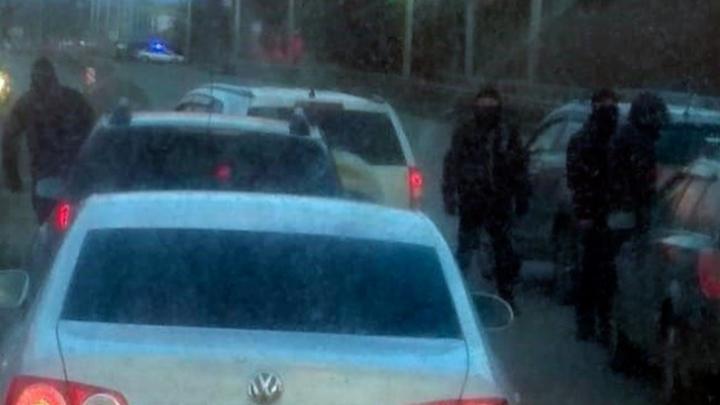 Стали известны подробности стрельбы по автомобилю в Уфе на Дёмском шоссе