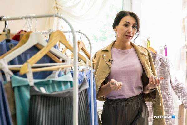 Выпускать одежду под собственным брендом девушка начала год назад
