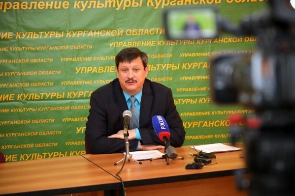 Владимир Бабин уволен с поста начальника управления культуры