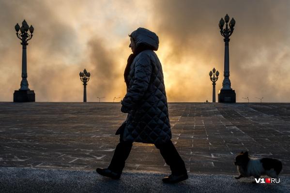Аномальные для Волгограда холода продержатся как минимум еще неделю