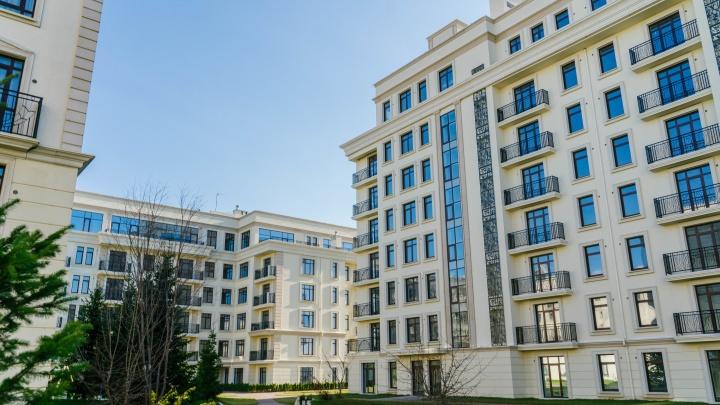 Свой бассейн, ресторан и фитнес: в элитном квартале продают готовые квартиры от7152000рублей