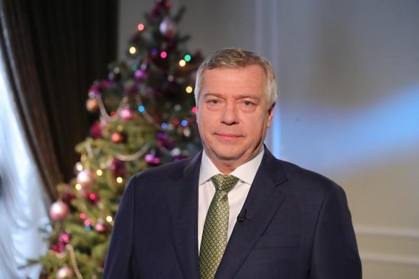 Глава региона поздравил жителей Ростовской области с Новым годом