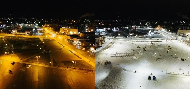 «Пермэнергосбыт» уменьшил энергопотребление уличного освещения в Соликамске на 67%