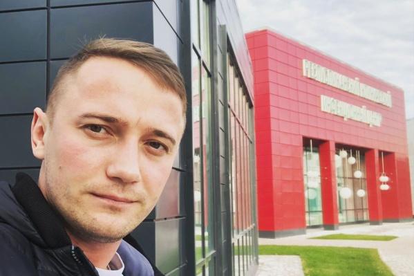 Глеб работает в инфекционном госпитале села Зубово