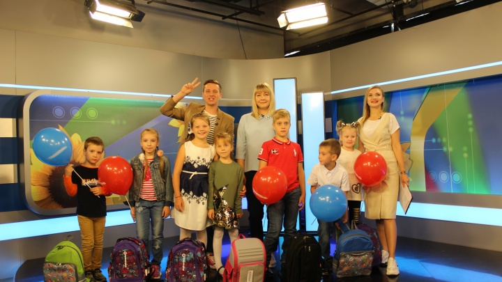 «Телесемь» и Четвертый канал раздали подарки настоящим и будущим школьникам