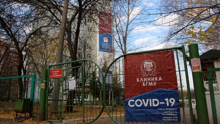В Башкирии за сутки 65 человек заразились COVID-19