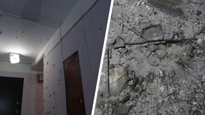 Появилось видео из дома, где самарец пытался взорвать полицейских