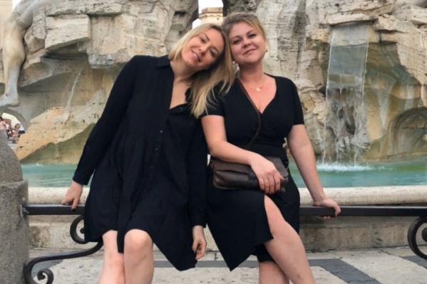 Мария Скорницкая и Валентина Мазунина в этом году