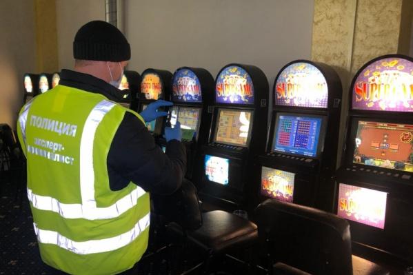 Полицейские изъяли 259 игровых автоматов