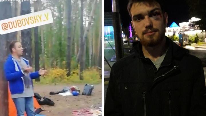 В полиции начали проверку после нападения на палаточный лагерь активистов