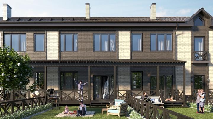 Всего по два: двухэтажный дом с террасой, две спальни и две парковки продают по цене однешки