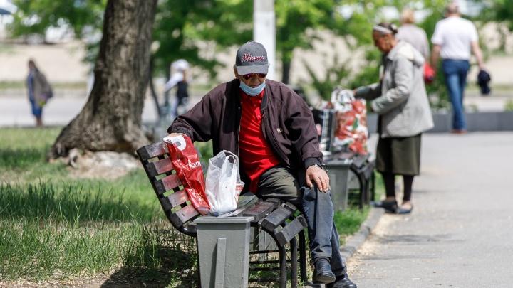 «На улице много людей»: в Волгограде вырос индекс самоизоляции после вспышки коронавируса
