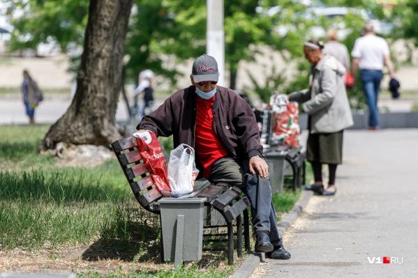 Больше всего волгоградцев на улицах в обеденное время
