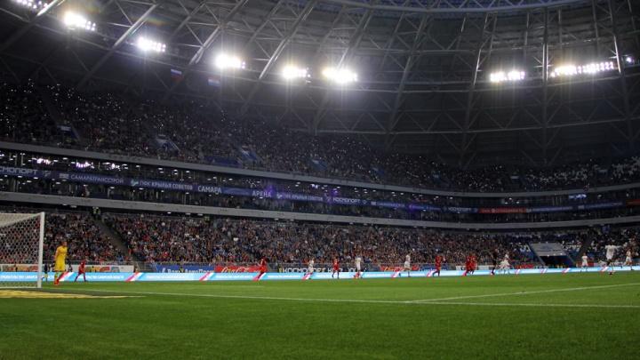 Футбольным фанатам на «Самара Арене» выдадут пледы