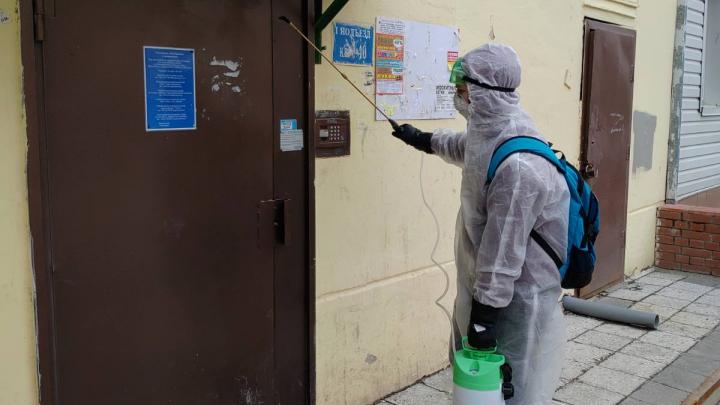 Прокуратура проверила качество дезинфекции тюменских домов. Факт нарушений подтвердился