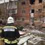 Власти пообещали, что жильцы поврежденного взрывом дома в Азове вернутся в квартиры до Нового года