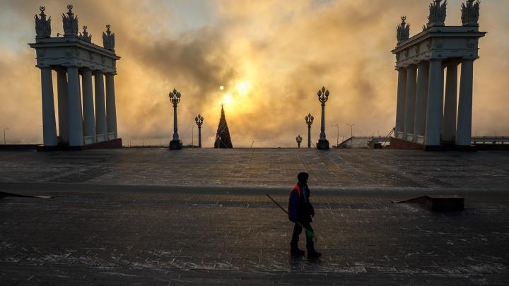 Температура упадет до -25 градусов: Волгоградскую область накроет аномальный мороз