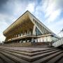 Фасад челябинского дворца спорта «Юность» отремонтирует компания, продающая лес, яйца и молоко
