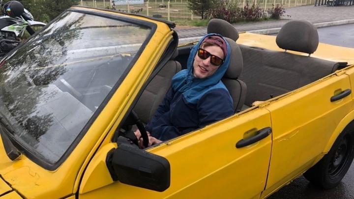 Красноярец сделал из ВАЗа кабриолет и выставил на продажу