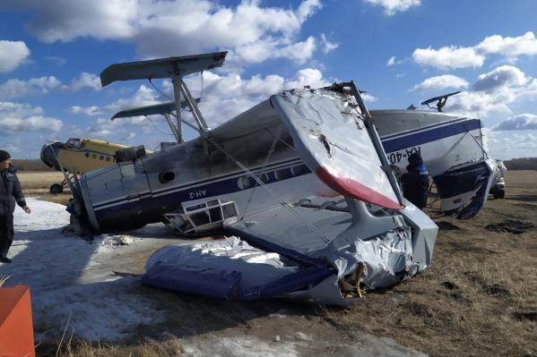 Самолёт получил серьёзные повреждения