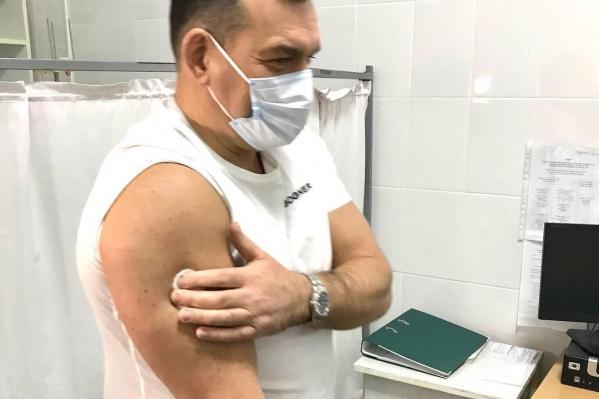 Предварительно Сергей Кузнецов сдал тест на антитела