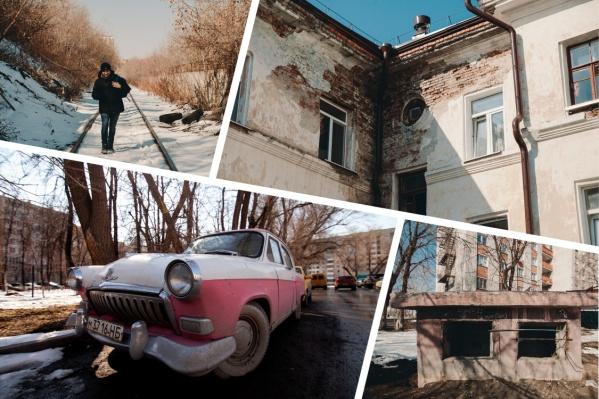 Отправляемся на улицу Щорса и в ее окрестности. Тут у нас бункеры, бараки и сталинки