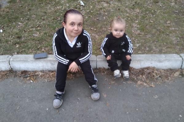 Валерия с дочкой