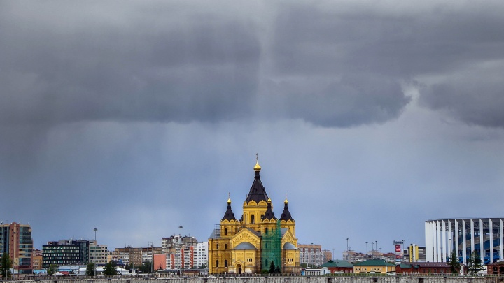 В Нижний Новгород пришли грозы. И закончатся они не скоро