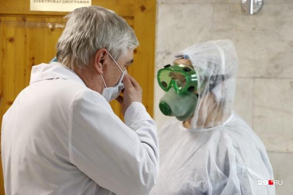 Больше всего заболевших в Архангельске